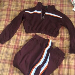 Wild Fable fall track suit